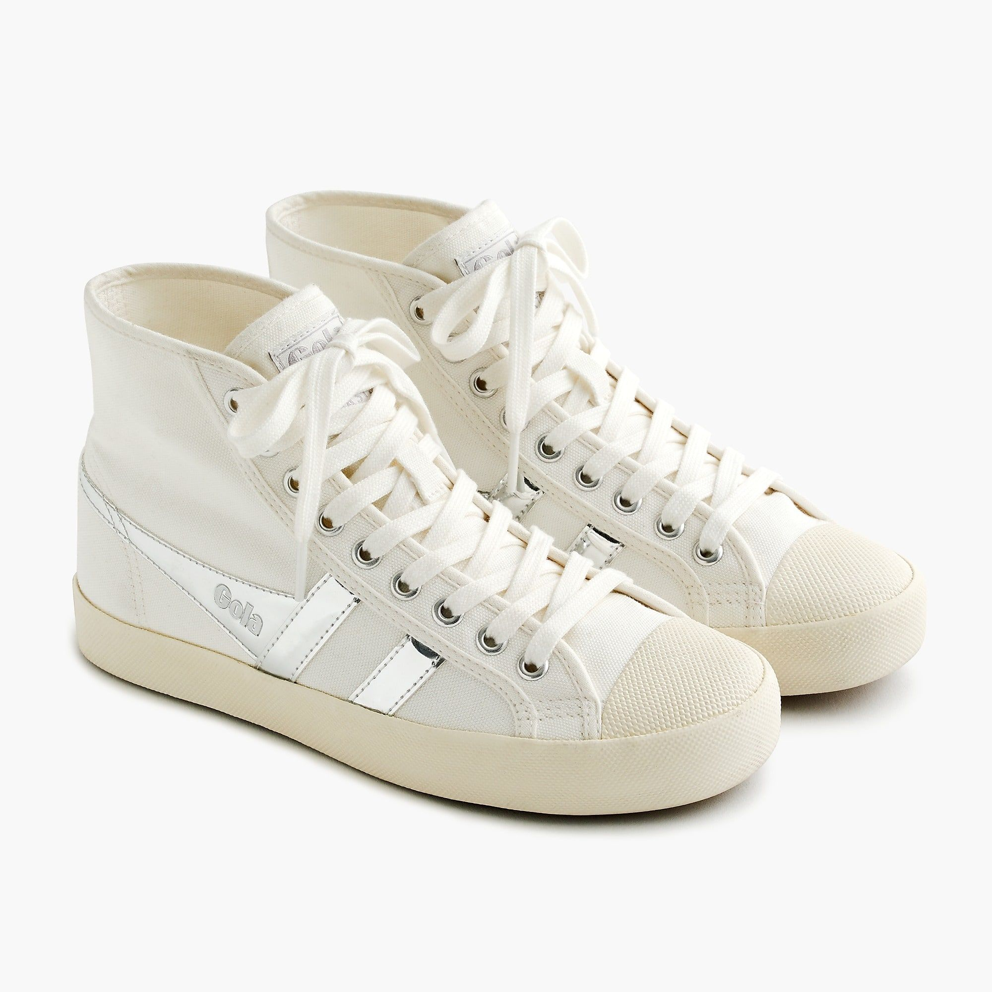 38b2f2dc3ea Shop the Women s Gola® For J.Crew Coaster High-Top Sneaker at J.Crew and  see the entire selection of Women s Sneakers. Free Shipping Available.