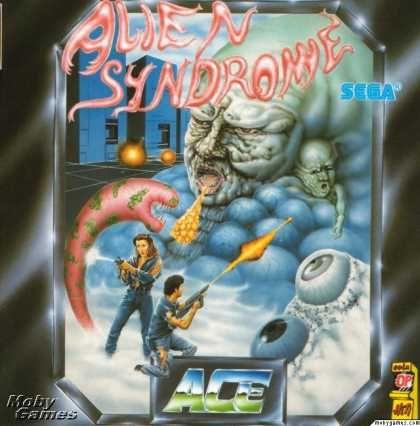 Atari ST Games - Alien Syndrome | Retro Gaming | Video game