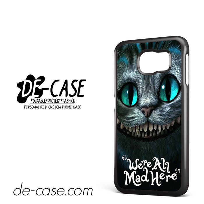 Cesire Cats Alice DEAL-2490 Samsung Phonecase Cover For Samsung Galaxy S6 / S6 Edge / S6 Edge Plus