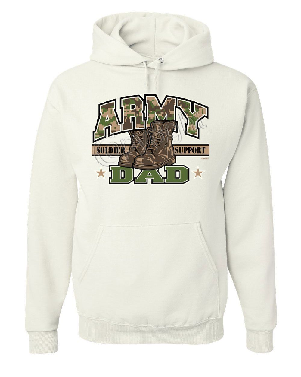promo code e93e7 37a4f Army Dad Hoodie For Dad Soldier Support Our Troops Patriotic ...