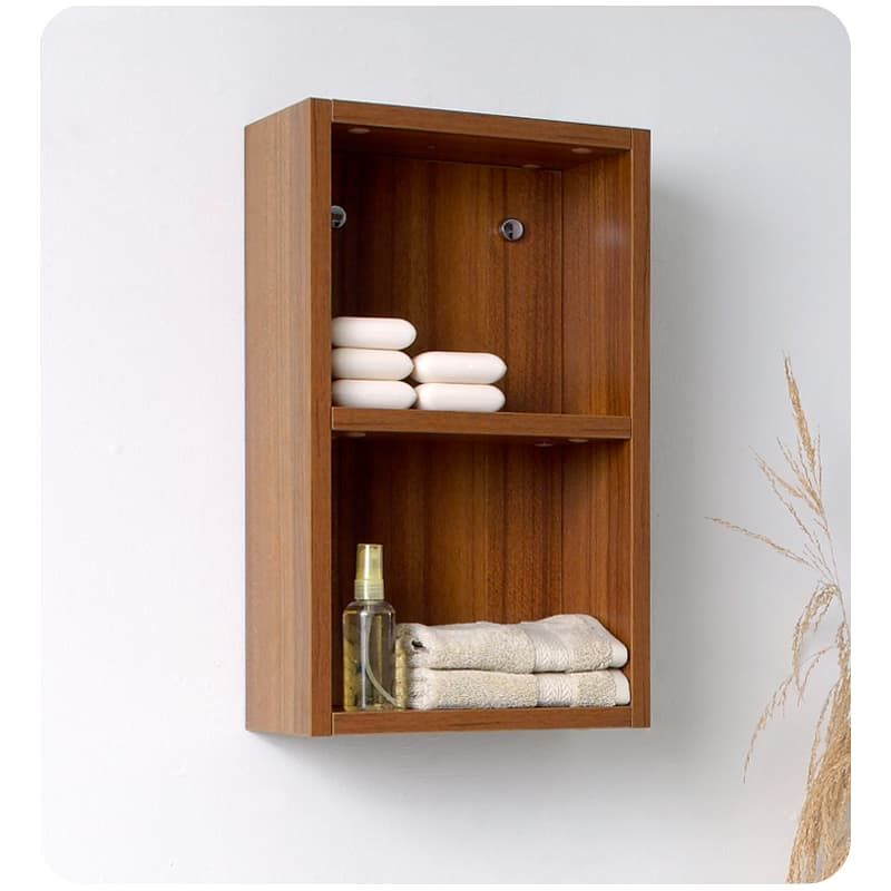 Fresca Fst8092 Teak Bathroom Linen Storage Cabinet Linen Cabinet