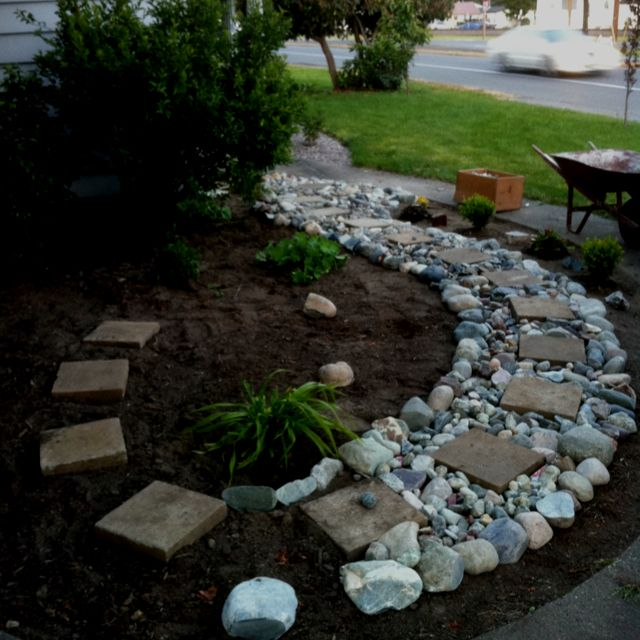 Bring Life To Your Garden With A River Rock Path