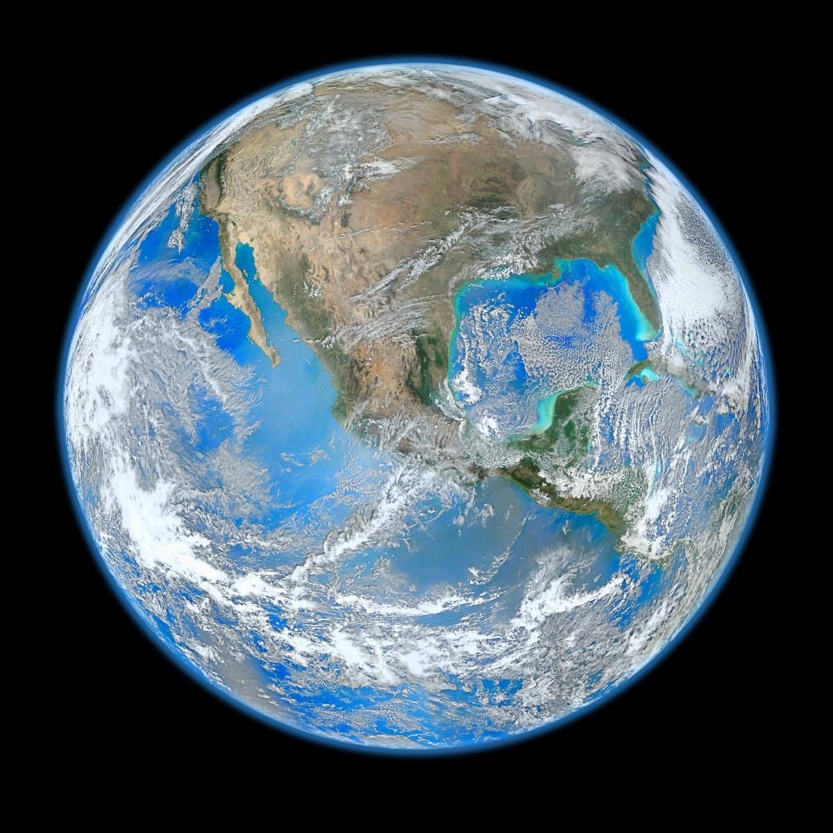 Human Eyes Have Many Limitations For Example Blue Tones Generally Look Darker Compared To Other Colors Because Our E Earth From Space Nasa Earth Earth Photos