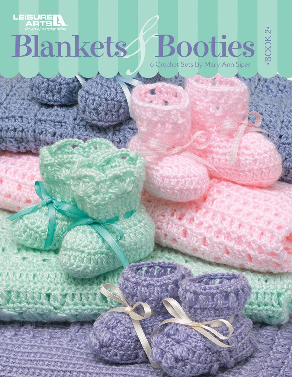 Blankets & Booties Book 2 | Pinterest | Häkelanleitung