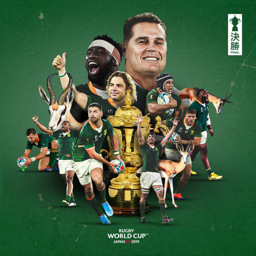 Rugby World Cup On Twitter Springboks Rugby South Africa Rugby World Cup South Africa Rugby