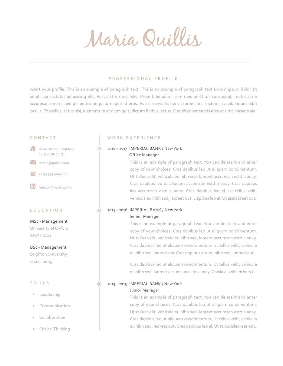 Classic Resume Templates Delectable  Best Yet Free Resume