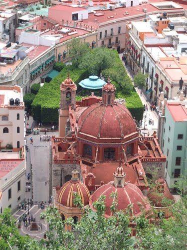 Guanajuato, Historic Town and Adjacent Mines (Mexico ... |Guanajuato Historical Places