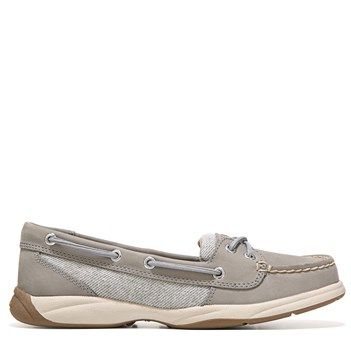 Sperry Top-Sider Women's Laguna Boat Shoes (Grey Wool Stripe) - 7.0 M
