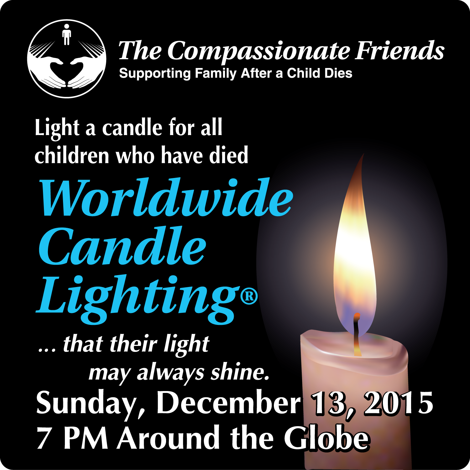 Joy today candle lighting ceremony loss of your child