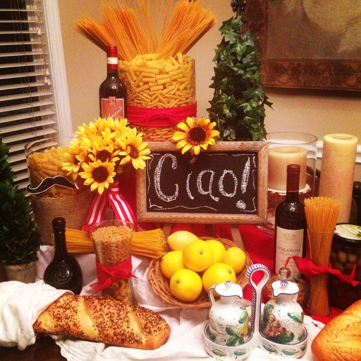 17 Ideas About Italian Party Decorations On Pinterest