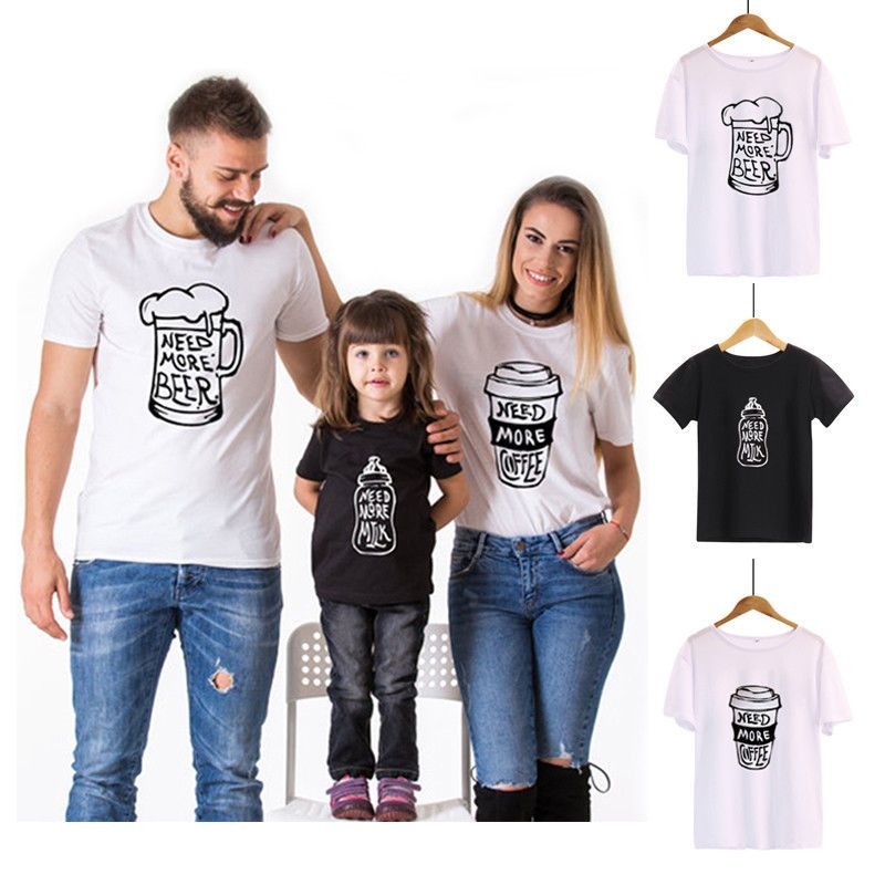 841ade5354 $5.99 AUD - Family Matching Outfits T-Shirt Clothes Papa Mama Kids Baby  Bear Tops #ebay #Fashion