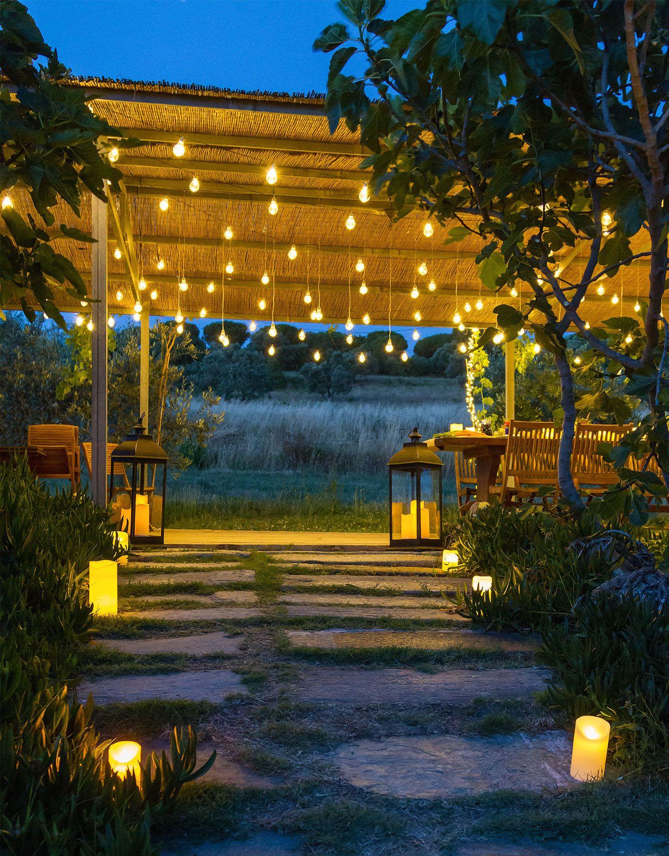 Luci e addobbi per feste (con immagini) Arredo giardino