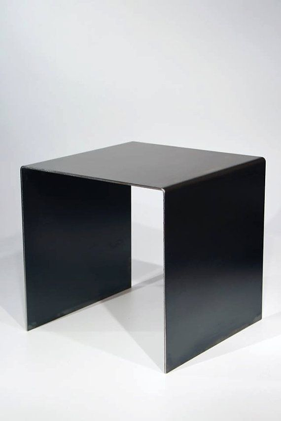 the M table  metal coffee table by Perkgana on Etsy