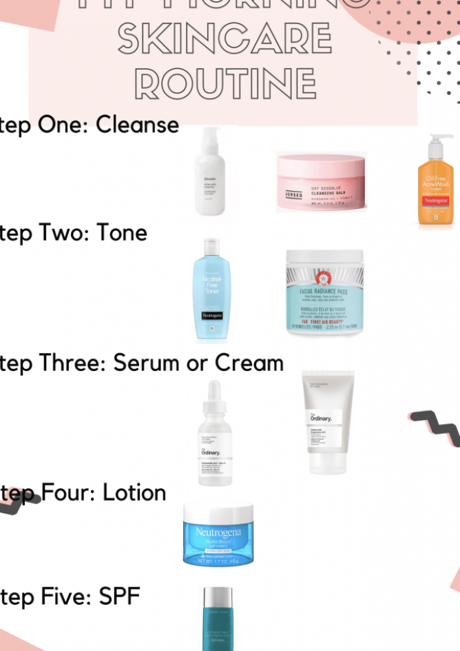 My Morning Skincare Routine Following Sunshine Beauty Skincareroutine Morningskincarer In 2020 Morning Skin Care Routine Morning Skincare Skin Care Routine Steps