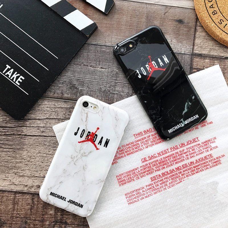 Air michael jordan marble case for iphone x xr xs max 6 s