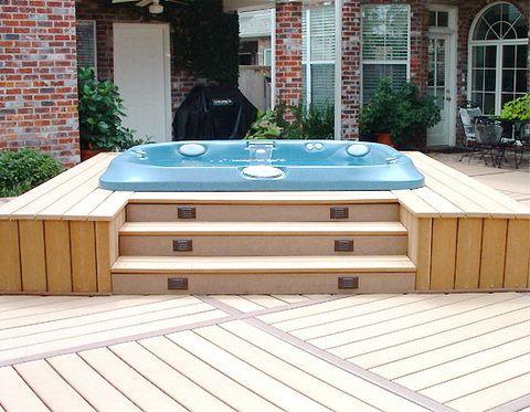 Hot Tub Idea Tuin Design Zwembad Spa Jacuzzi