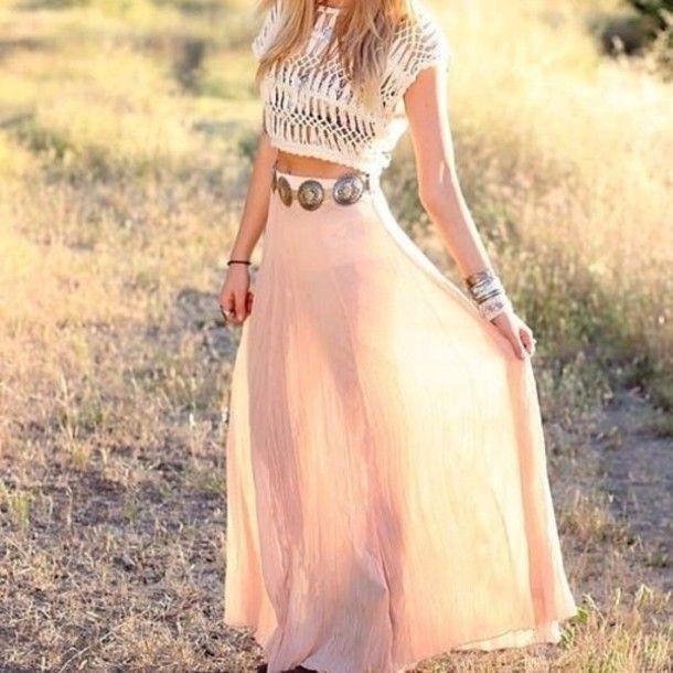 Hippie maxi dress tumblr