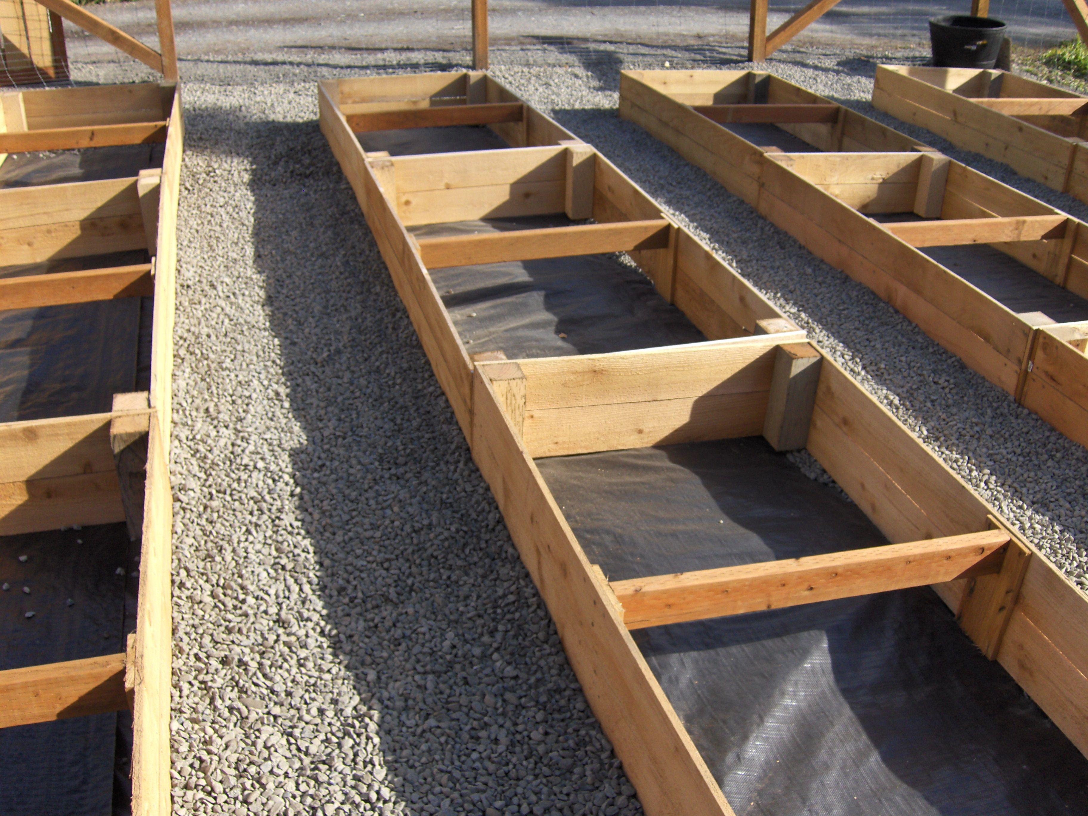 Built my raised beds using 1x6x6 cedar fence   My garden   Brick