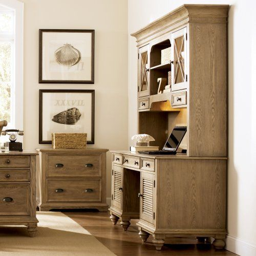 Riverside Furniture Coventry Collection Credenza Desk Set | From  Hayneedle.com