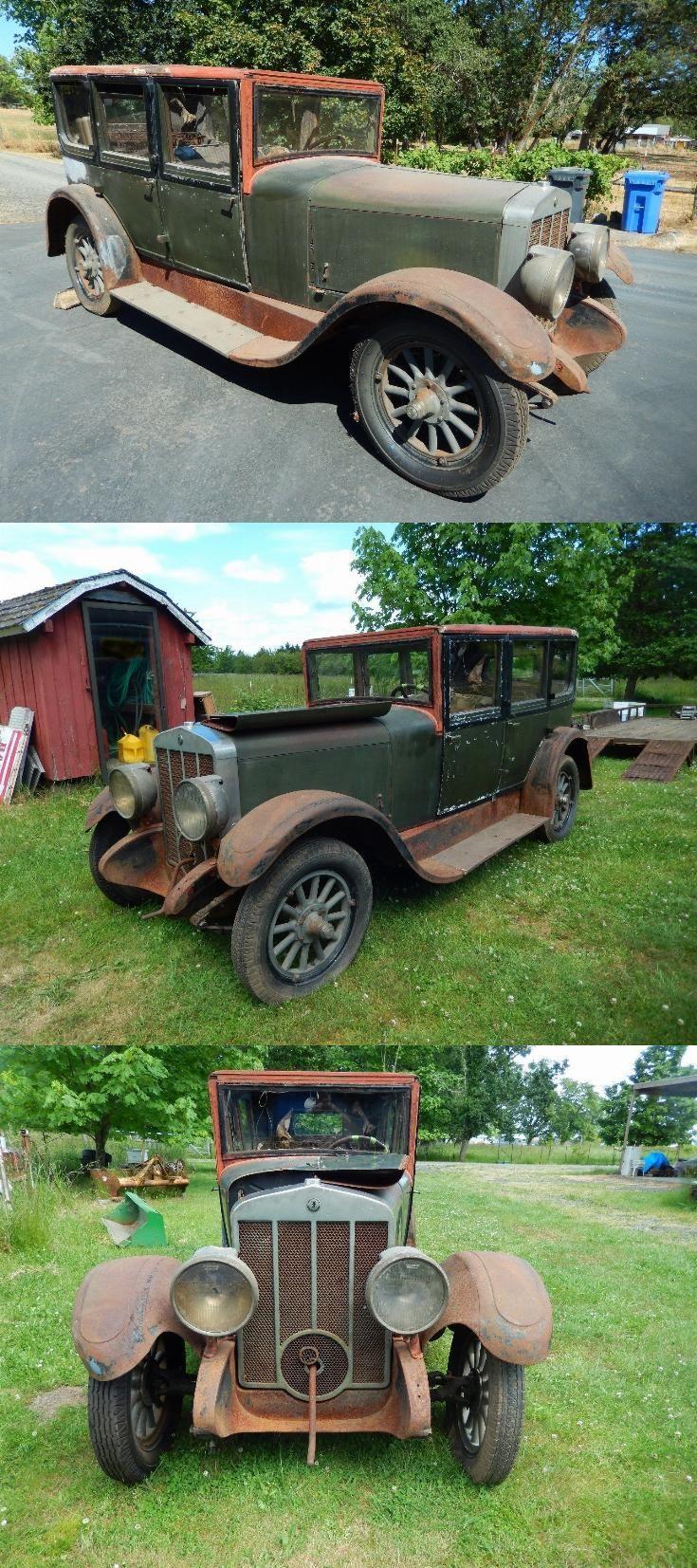1926 Franklin Model 11a Air Cooled Engine Antique Vintage
