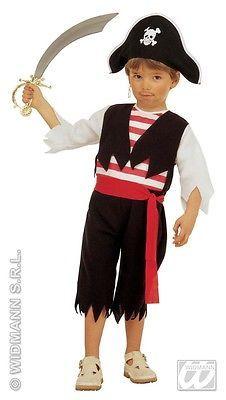 Kostum Little Pirat 104 Karneval Seerauber Kinder Fasching