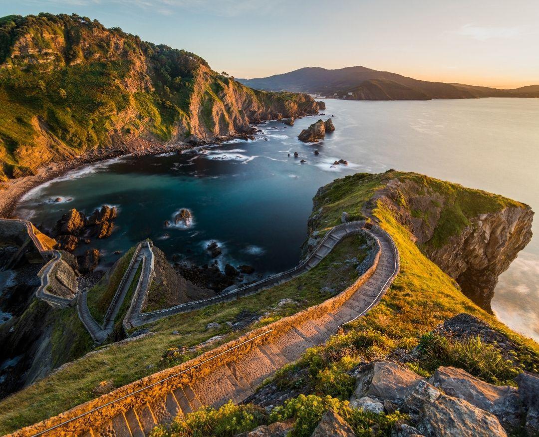 1 505 Likes 6 Comments антон петрусь Anton Petrus On Instagram Gaztelugatxe Basque Count San Juan De Gaztelugatxe Vacation Destinations Basque Country