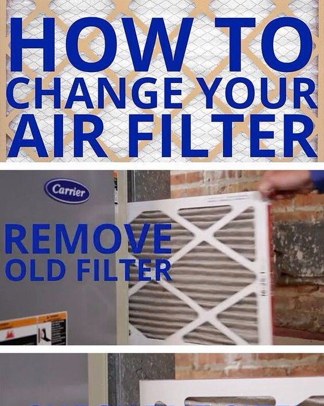 How To Change Your Air Filter (infographic)