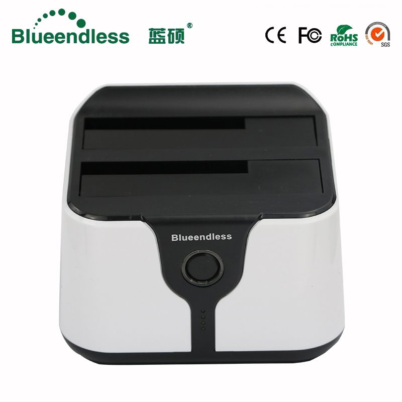 6TB hdd rack Plastic UV 2 5 USB 3 0 sata box 5Gbps hdd ssd