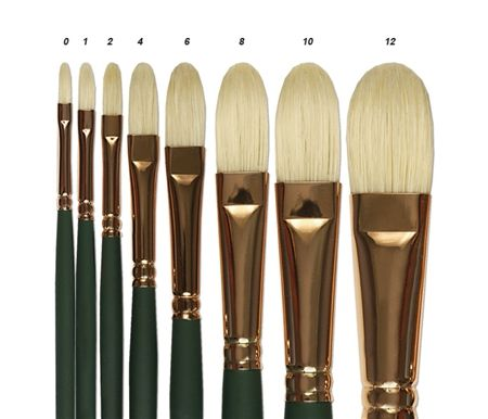 Silver Brush Grand Prix Superior Bristle Brushes
