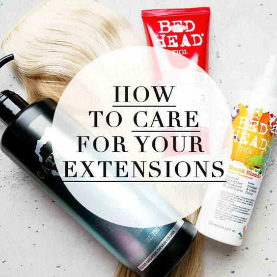 Take A Look At Our Top Tips On How To Care For Clip In Hair