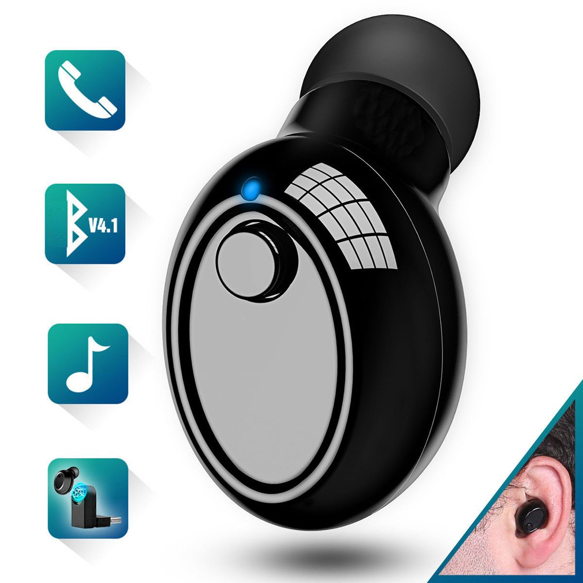 Mpow 059 Bluetooth Headphones Over Ear, HiFi
