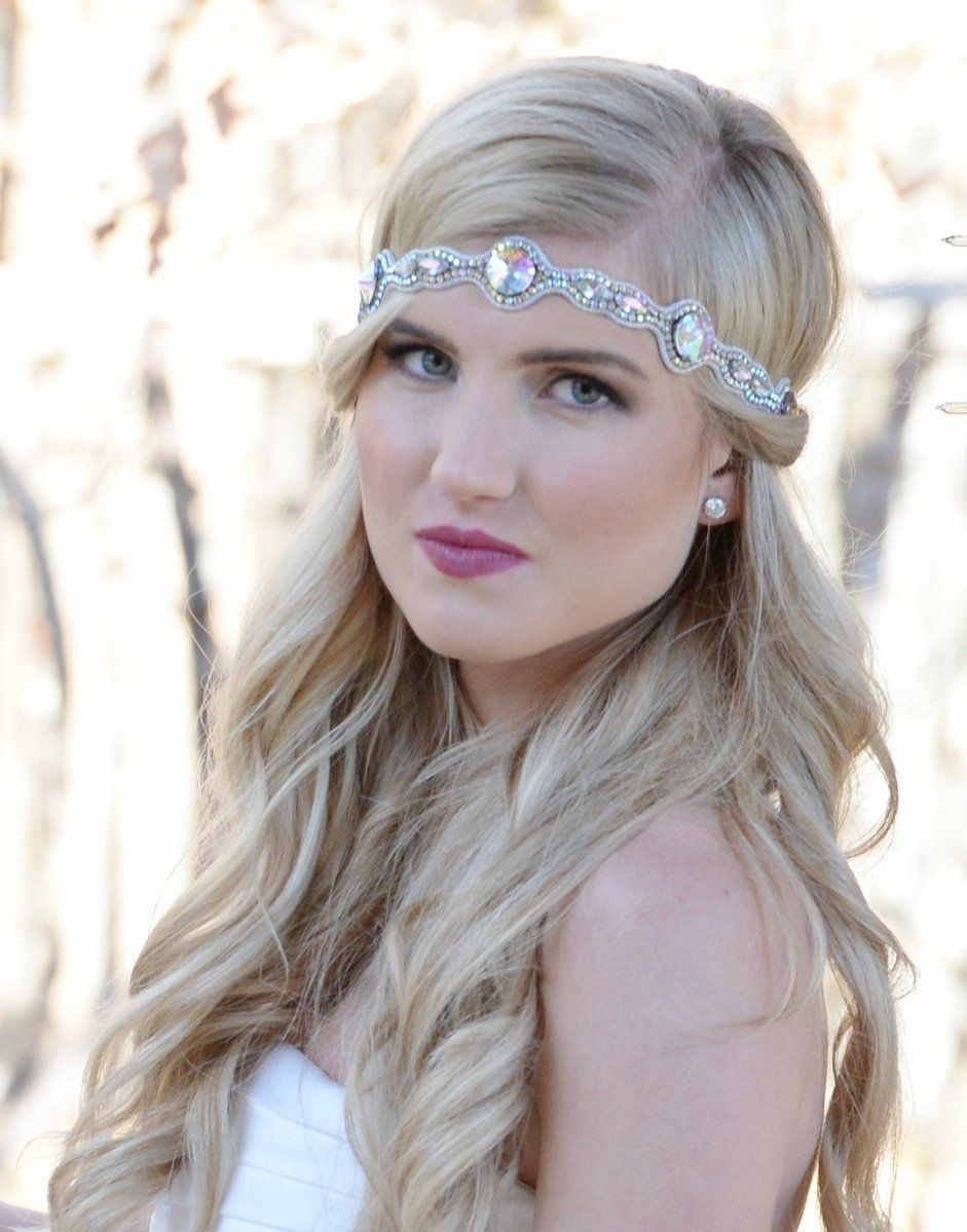 """amazon : pink pewter authentic bridal collection """"kelli"""" crystal"""