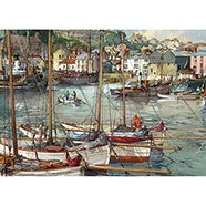 Falcon De Luxe Ilfracombe Harbour Devon Jigsaw Puzzle - 1000 Pieces