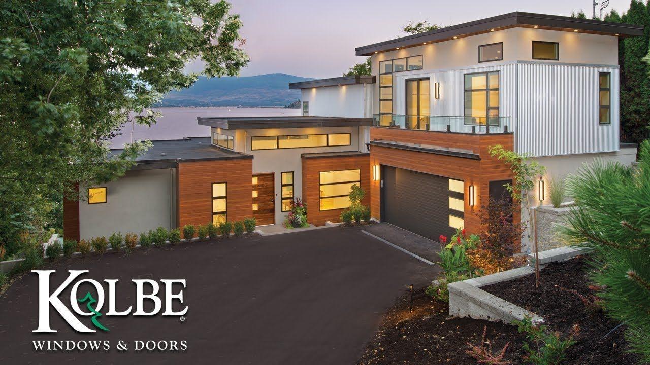 Contemporary Home In Kelowna Bc Overlooking Okanagan Interior Design Career Architecture Garden Architecture