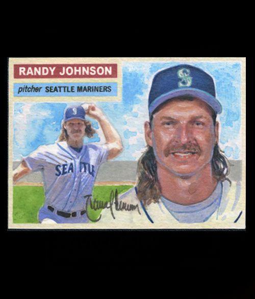 Randy Johnson Mariners Legend 1956 Style 11 Masterworks