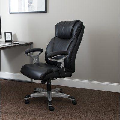 Winston Porter Mcglone Ergonomic Executive Chair Colour Black In 2020 Stylish Office Chairs Executive Chair Ergonomic Office Chair