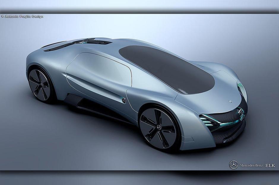 Mercedes Elk Electric Concept Future Car Concept Cars Cars