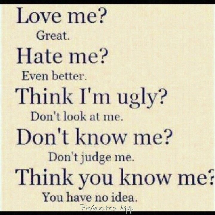 You have know idea!!