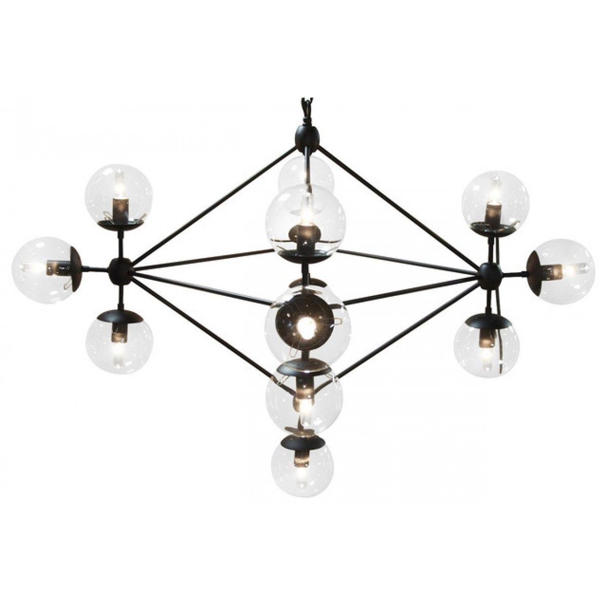 Pluto chandelier small salle dexposition montral luminaire montral luminaire quincaillerie mozeypictures Gallery