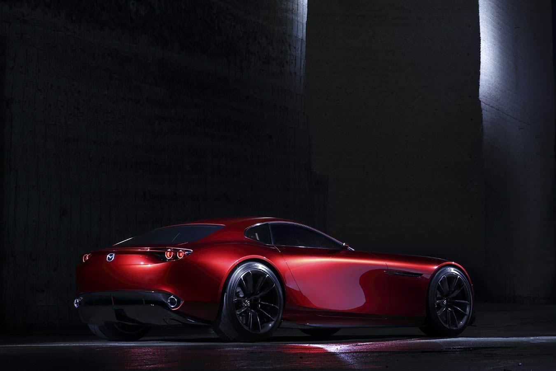 Mazda Rx Vision Heldth Mazda Heckantrieb Coupe
