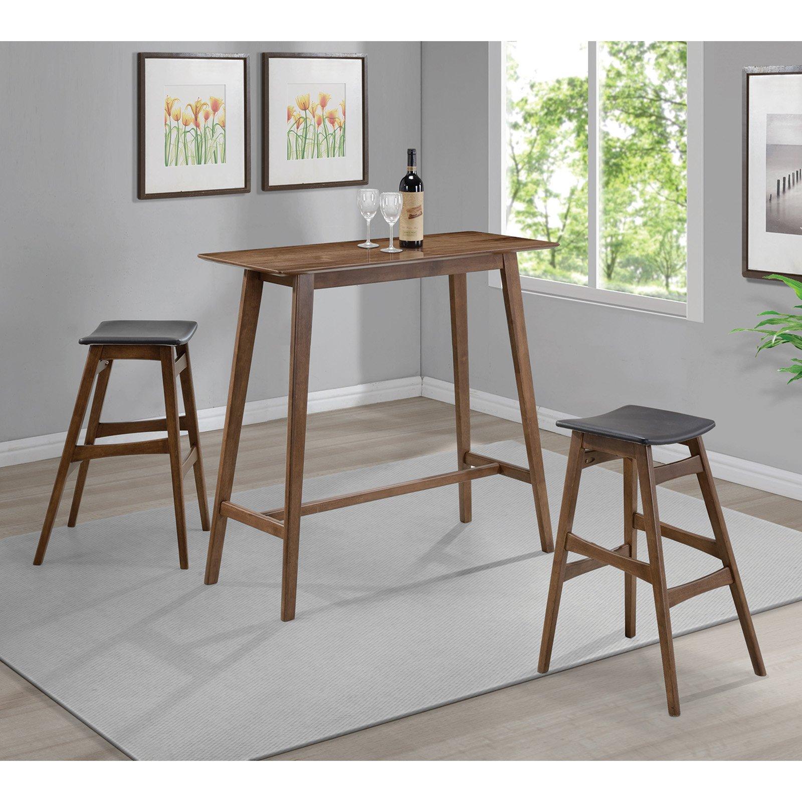 Coaster Furniture Rectangle Bar Table Rectangular Pub Table Pub