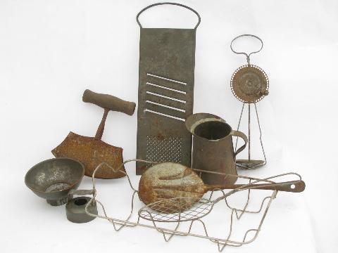 Vintage Metal Kitchen Utensils Vintage Kitchen Blog