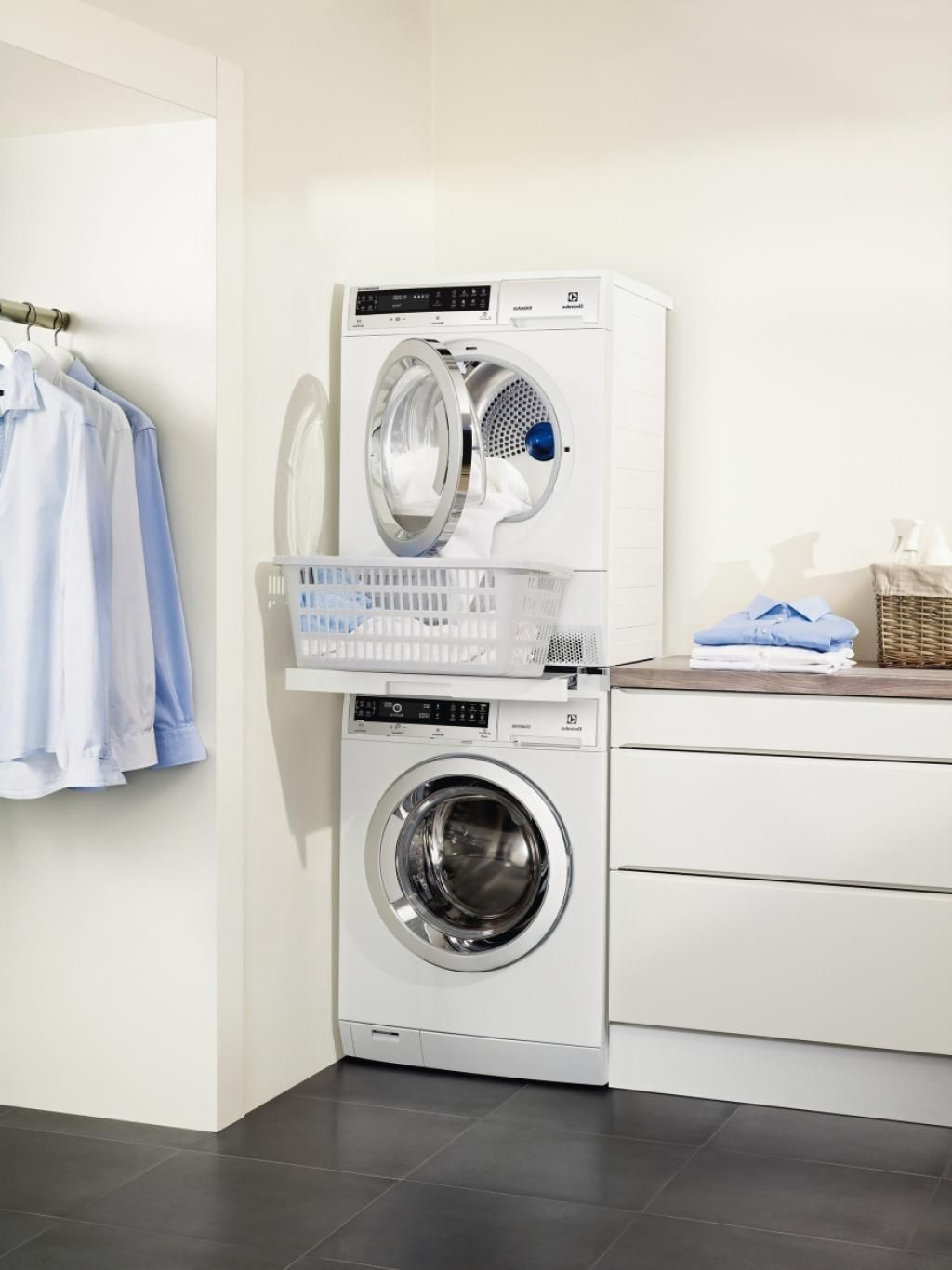 Small Laundry Machine Awesome Elegant Small Laundry Room Design Ideas With Double