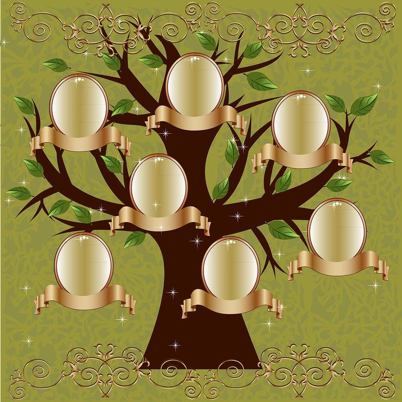 шаблоны генеалогическое дерево моей семьи без фото весьма