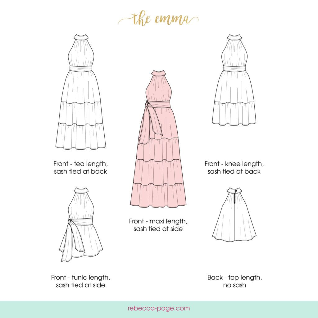 The emma is a mommy and me high neck dress pattern that has a sew pattern jeuxipadfo Choice Image
