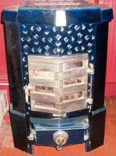 Antique French Stove Co - multifuel stove by Deville