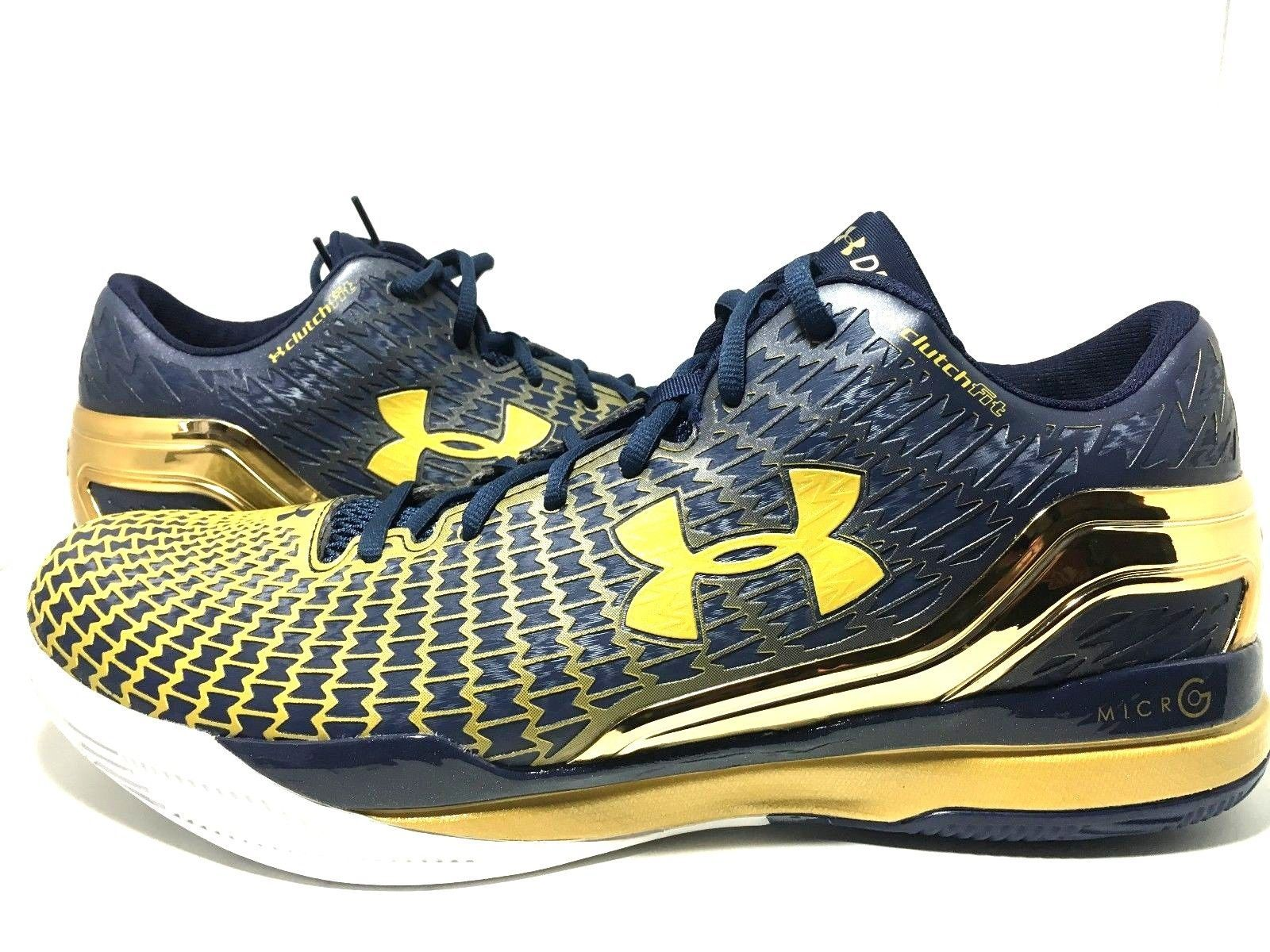 Under Armour Clutchfit Drive Stephen Curry Notre Dame Basketball Men's 15