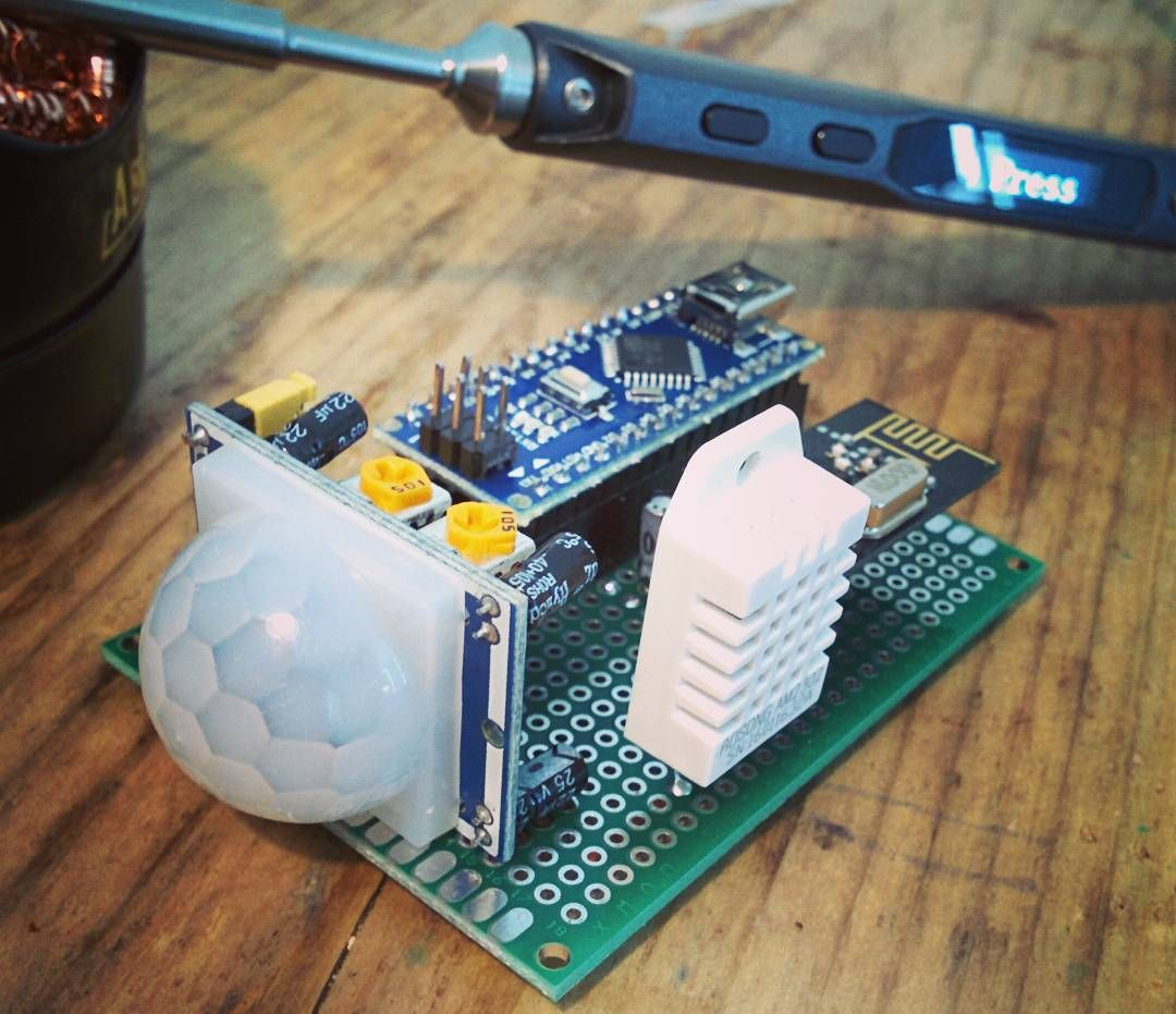 3in1 sensor #arduino #mysensors #iot #homeautomation