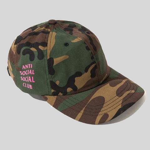 52301a27693d7 Anti Social Social Club ASSC Weird Cap Camo Pink