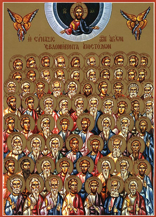 Synaxis of the Seventy Apostles - Orthodox Church in America